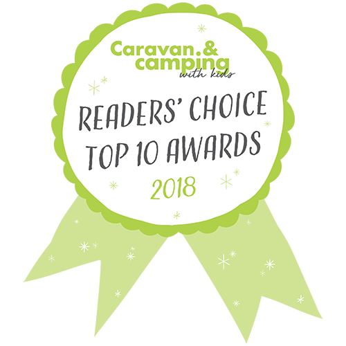 caravan and camping with kids winner 2018