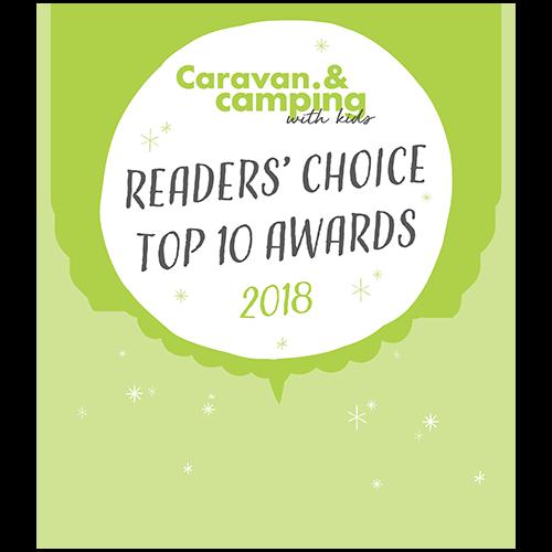 caravan and camping with kids winner 2018