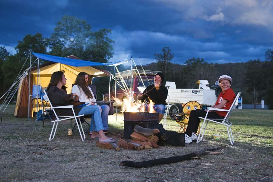 Del Rio Resort camping near Sydney