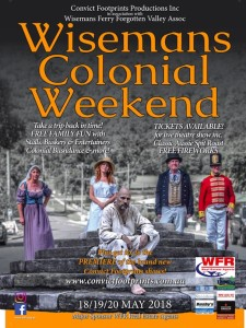 Colonial Weekend at Wisemans Ferry